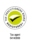 Tax Agent Logo with agent number